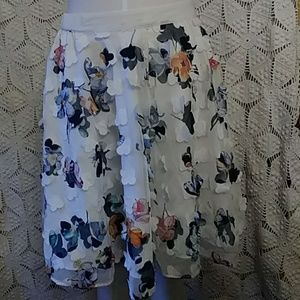 A New Day floral high-low skirt-sz M